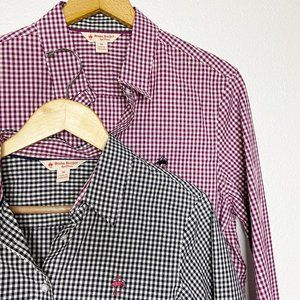 Brookes Brothers NWT Lot of 2 Size 14 Button Down